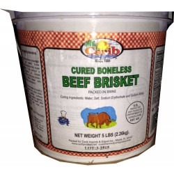 Carib Beef Brisket - 5lb