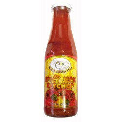 JCS Spicy Jerk Ketchup (12oz)