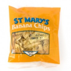 St. Mary's Banana Chips 5oz