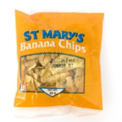 St. Mary's Banana Chips 5oz - 3 pack